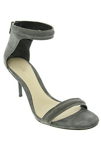 phillip lim chaussures femme de couleur gris