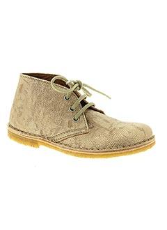 Bottines/Boots jaune BISGAARD pour fille