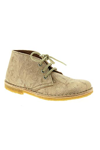 bisgaard chaussures fille de couleur jaune