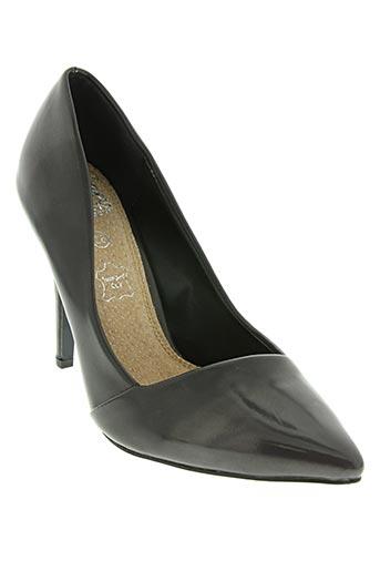 cassis chaussures femme de couleur gris