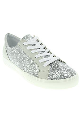 aco chaussures femme de couleur gris