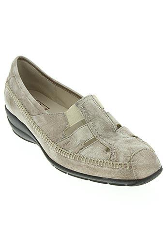 hasley chaussures femme de couleur beige