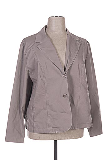 Veste chic / Blazer beige BRANDTEX pour femme