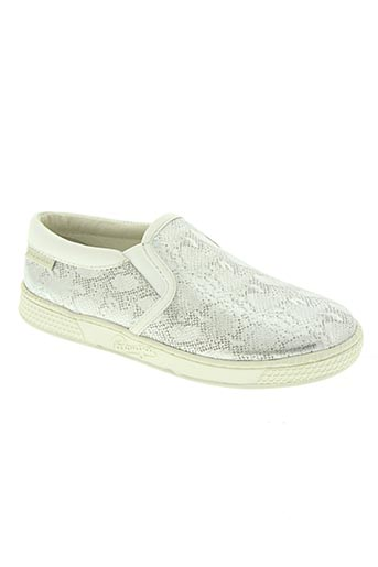 pataugas chaussures fille de couleur gris