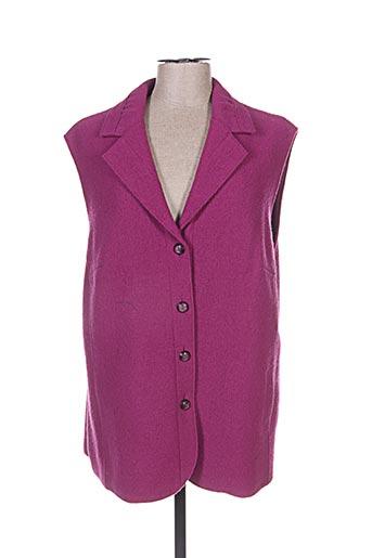 Veste casual violet SOMMERMANN pour femme