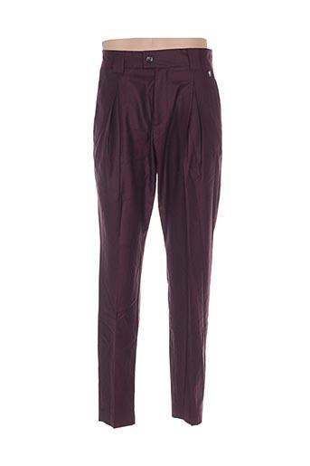 Pantalon chic rouge GALLIANO pour homme
