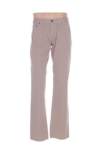 Pantalon casual gris GALLIANO pour homme