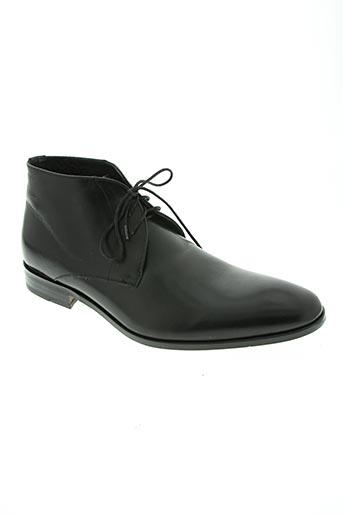 paco milan chaussures homme de couleur noir