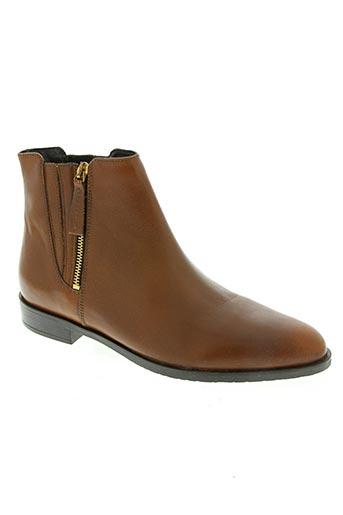 mia via chaussures femme de couleur marron