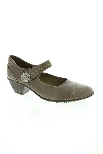 samson chaussures femme de couleur marron