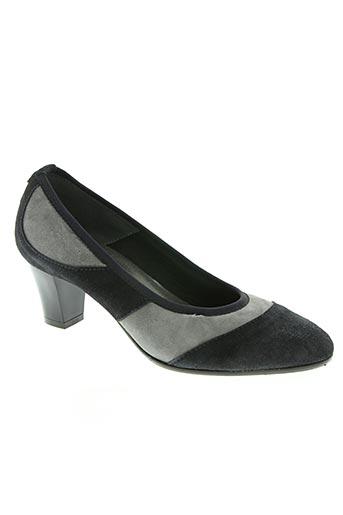 paolina chaussures femme de couleur bleu