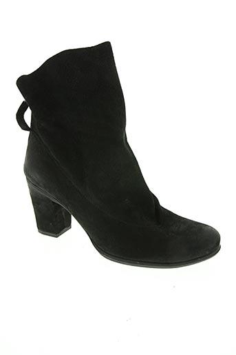 lune & l'autre chaussures femme de couleur noir