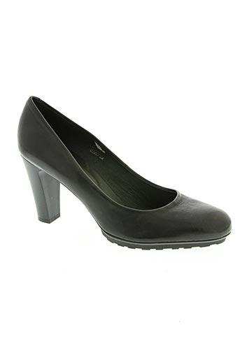 luca ferri chaussures femme de couleur noir