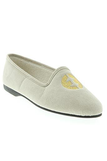 exquise chaussures femme de couleur gris