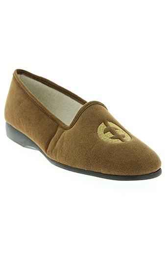 exquise chaussures femme de couleur marron