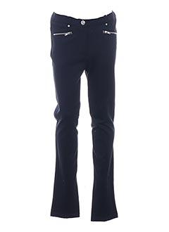 Pantalon casual bleu LOSAN pour fille