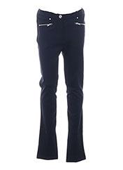 Pantalon casual bleu LOSAN pour fille seconde vue