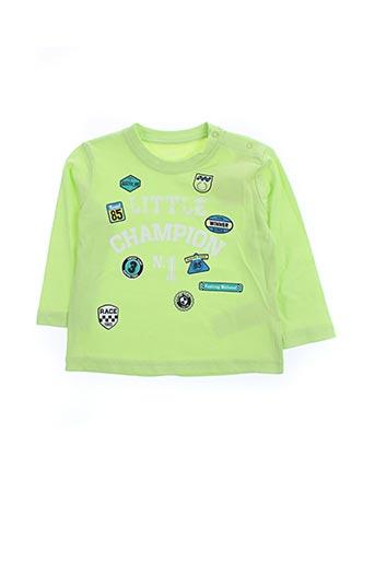 T-shirt manches longues vert LOSAN pour garçon