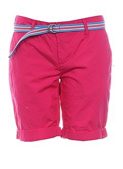 Produit-Shorts / Bermudas-Femme-KENVELO