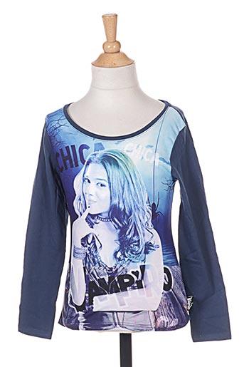 T-shirt manches longues bleu CHICA VAMPIRO pour fille