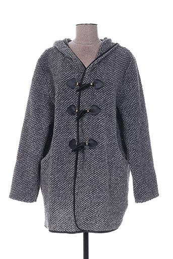 Veste casual gris QUATTRO pour femme