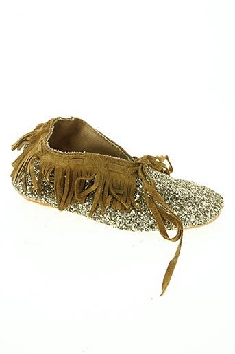 anniel chaussures fille de couleur marron