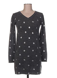 Robe pull gris BONPOINT pour fille