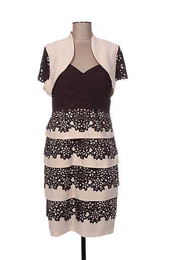 Veste/robe marron CREATIF PARIS pour femme
