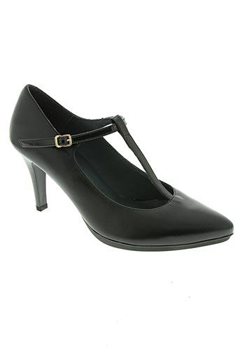descanflex chaussures femme de couleur noir