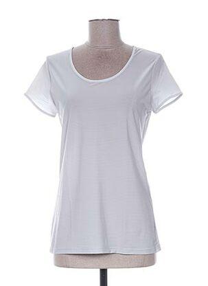 T-shirt manches courtes gris E-BRYDE pour femme