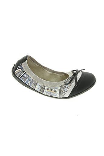 les p'tites bombes chaussures fille de couleur gris