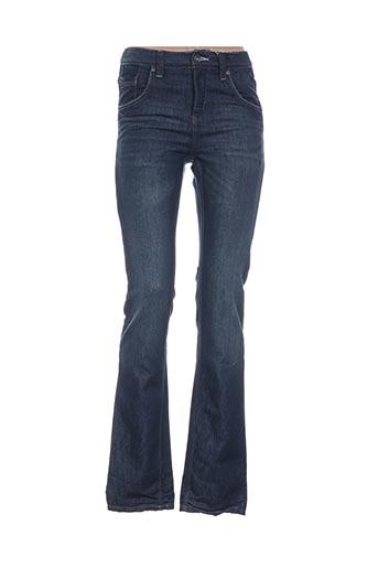 Jeans coupe droite bleu GARCIA pour fille