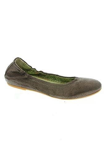 emmanuelle côme chaussures femme de couleur marron