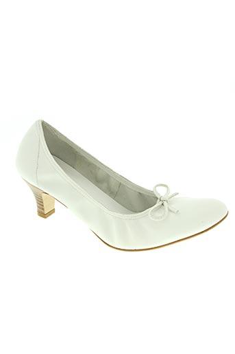 studio paloma chaussures femme de couleur blanc