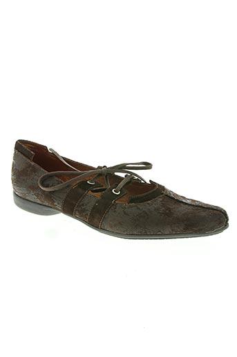 paco valiente chaussures femme de couleur marron
