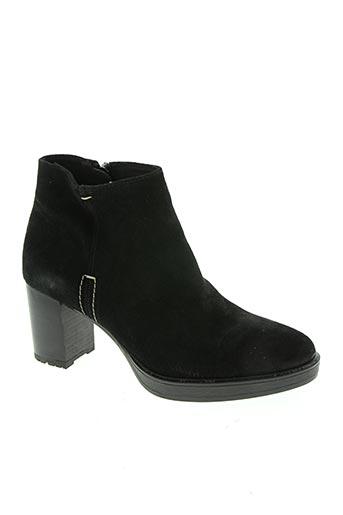 alpe chaussures femme de couleur noir