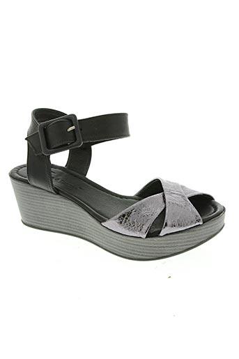 lune & l'autre chaussures femme de couleur gris