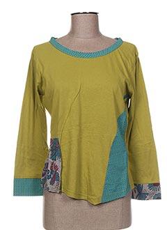 Produit-T-shirts-Femme-NID D'ABEILLE