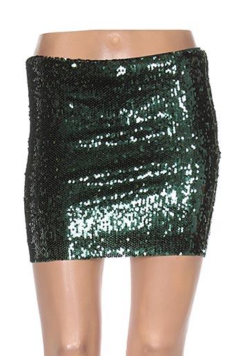 Mini-jupe vert SAMSOE & SAMSOE pour femme