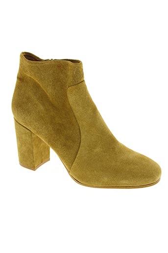 sessun chaussures femme de couleur beige
