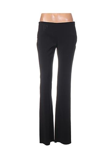 Pantalon casual noir FERRE pour femme