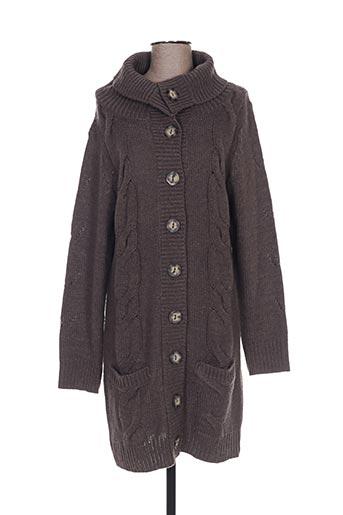 Veste casual marron EMOI BY EMONITE pour femme