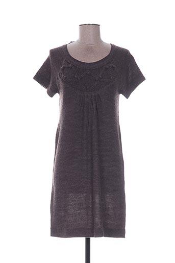 Robe pull marron EMOI BY EMONITE pour femme