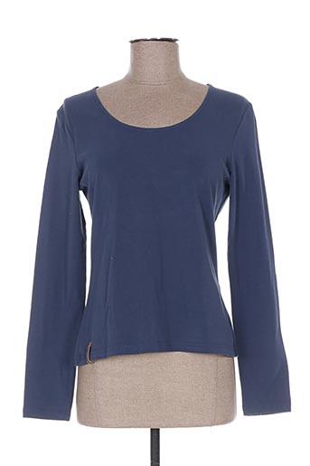 T-shirt manches longues bleu ALL BEAUTIFUL pour femme