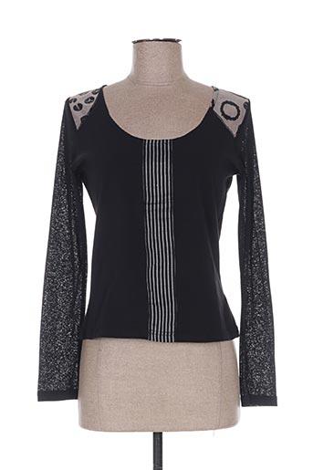 T-shirt manches longues noir ALL BEAUTIFUL pour femme
