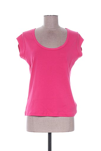 T-shirt manches courtes rose EMOI BY EMONITE pour femme