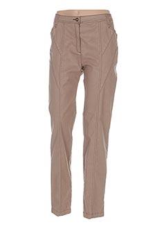 Pantalon casual blanc ANNE KELLY pour femme