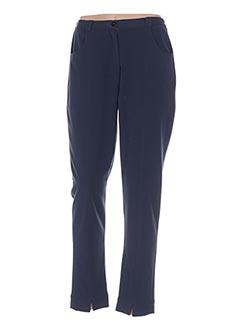 Pantalon casual bleu ENJOY pour femme