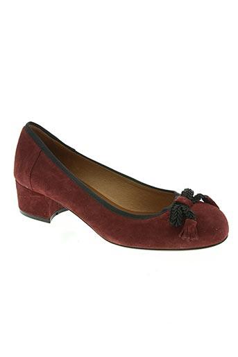 sofia costa chaussures femme de couleur rouge