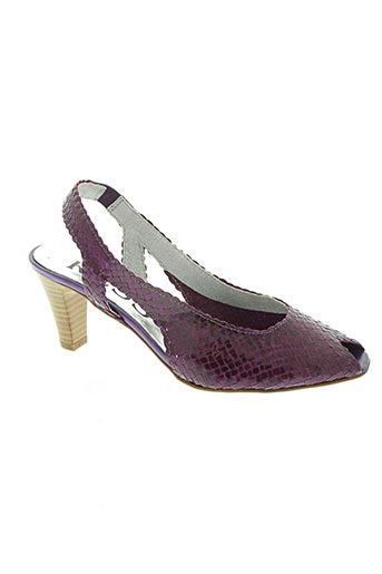 kess chaussures femme de couleur violet